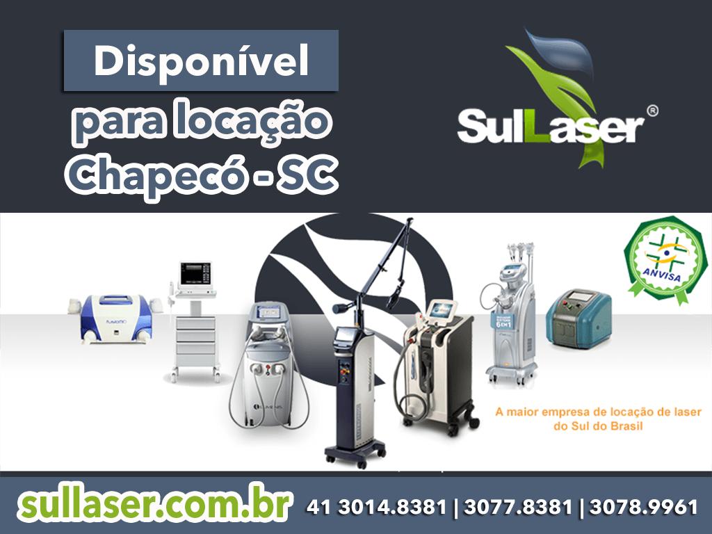 locação de equipamentos médicos em Chapecó