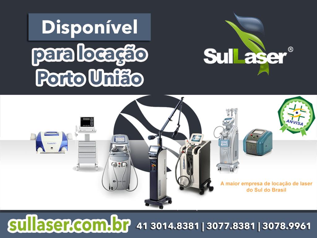 locação de equipamentos médicos em Porto União