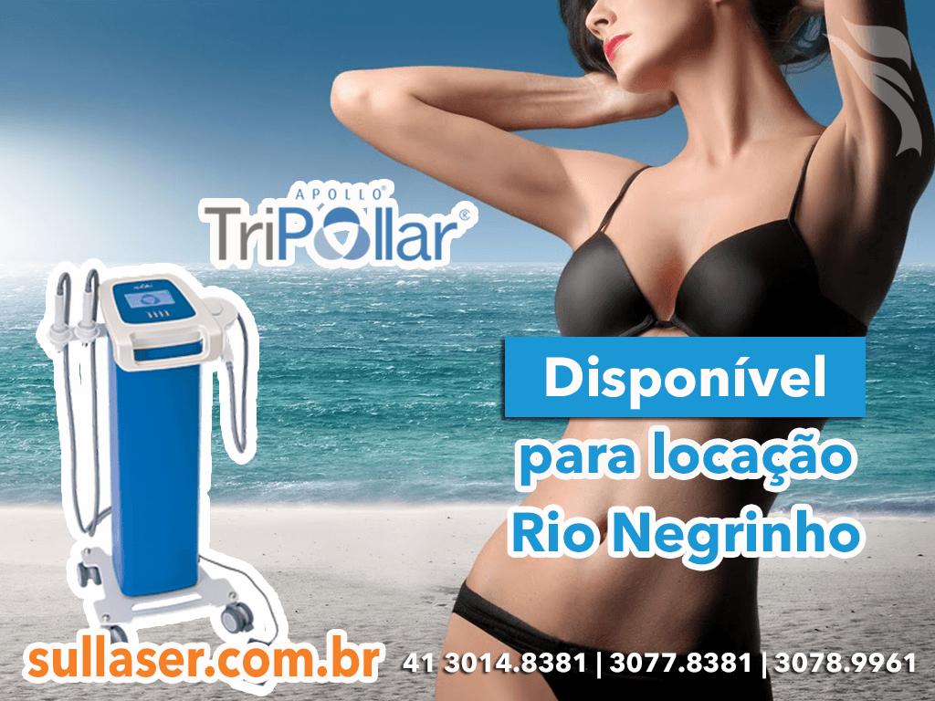 Locação tripollar Rio Negrinho
