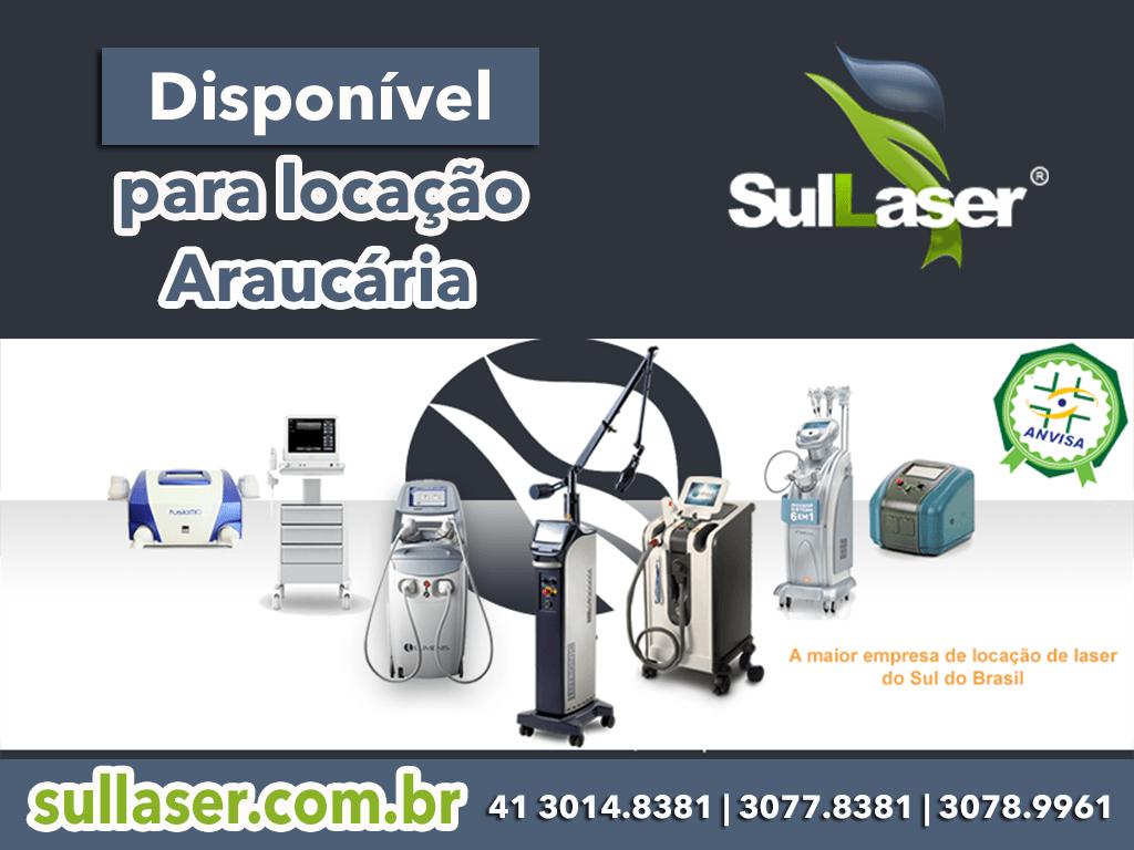 Locação de equipamentos médicos em Araucária