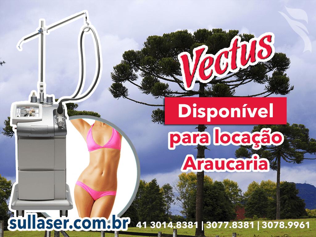 Locação laser Vectus Araucária