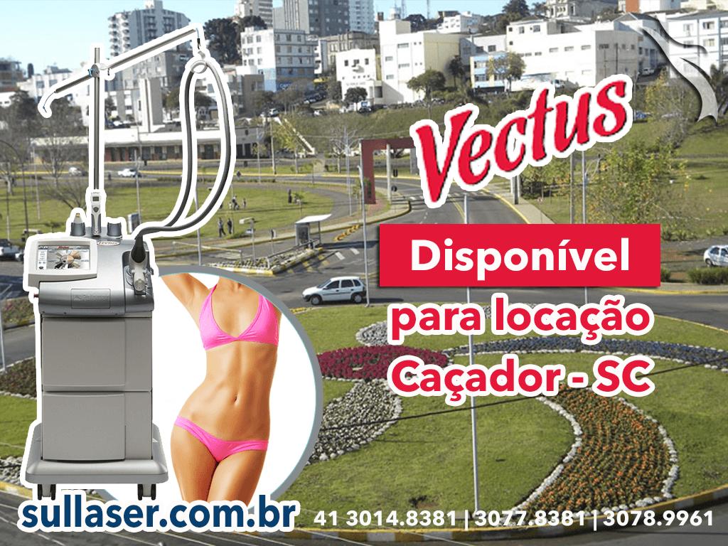 Locação laser Vectus Caçador