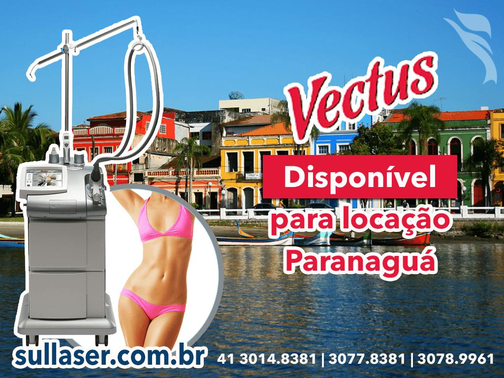 Locação laser Vectus Paranaguá